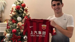 CHÍNH THỨC: Chelsea bán Oscar cho CLB Trung Quốc với giá 'điên rồ'