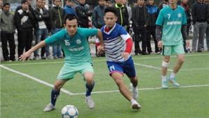 Đội bóng của Quang Tình đăng quang ngôi vô địch