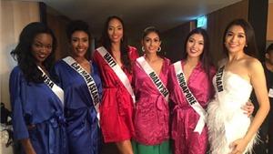 Chùm ảnh: Lệ Hằng xuất hiện trên Facebook và Instagram chính thức của Miss Universe 2016