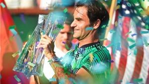 Federer hạ Wawrinka ở CK Indian Wells, san bằng kỷ lục của Djokovic