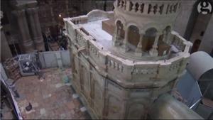 Lăng mộ Chúa Jesus khánh thành sau 9 tháng trùng tu