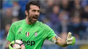 Buffon chạm mốc 1000 trận đấu: Huyền thoại bất tử