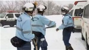 Lở tuyết ở Nhật Bản, 8 học sinh bị chôn vùi, nhiều người mất tích
