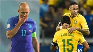 TIẾT LỘ: Brazil trở lại ngôi số một thế giới sau 6 năm, Hà Lan sa sút khủng khiếp