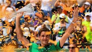 Roger Federer vô địch Miami Open: 'Hạnh phúc là khi có Nadal ở bên vào lúc này'