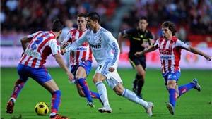 BIG BET: Dự đoán và tỉ lệ trận đấu Sporting Gijon-Real Madrid (21h15, 15/4)