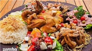 Hà Nội: Ăn gà mẹt 8 món kiểu thổ dân, chưa đến 100k/người, ở đâu?