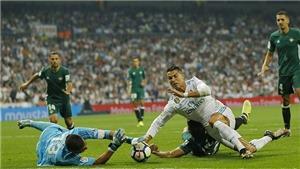 Video clip highlights bàn thắng trận Real Madrid 0-1 Real Betis