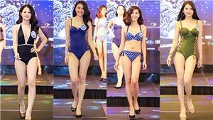 Thí sinh Hoa hậu Đại dương 2017 khoe hình thể nóng bỏng với bikini