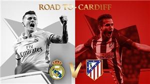 CĐV đội ơn Chúa trời vì... Real Madrid gặp Atletico Madrid ở Bán kết Champions League