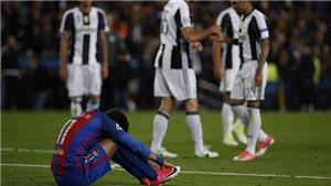 Barcelona 0-0 Juventus (0-3): Messi bất lực, Juve không phải là PSG, Barca sụp đổ