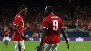 CĐV Man United phát cuồng về 'song sát' Lukaku và Rashford