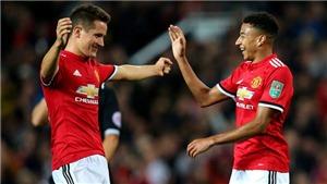 ĐIỂM NHẤN M.U 4-1 Burton: Mourinho lộ 'ý đồ' riêng. Rashford xuất sắc. Shaw, Lindelof mất điểm