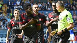 Video clip highlights bàn thắng trận Sampdoria 2-0 AC Milan