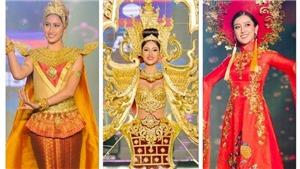 TRỰC TIẾP: 77 thí sinh Hoa hậu Hoà bình Thế giới 2017 tranh tài đêm Sơ kết