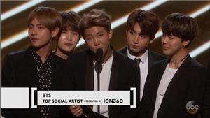 Billboard 2017: BTS xuất hiện 'hoành tráng' khi nhận giải Nghệ sĩ ảnh hưởng nhất mạng xã hội