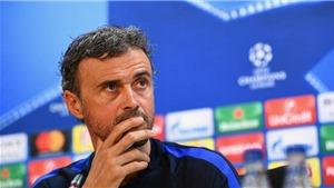 Luis Enrique: 'Đừng rời sân sau 80 phút. Barca đã ghi 3 bàn trước PSG chỉ trong 5 phút đấy thôi'