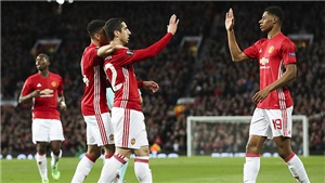 VIDEO Clip trận Man United 2-1 Anderlecht