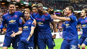 Man United thống trị cả 3 tuyến ở đội hình tiêu biểu Europa League