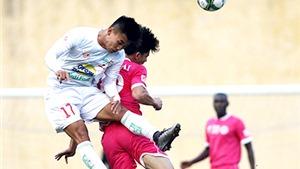 HAGL hòa SLNA 0-0. Hà Nội T&T thắng Đồng Tháp 5-2