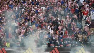 UEFA mở kiện Croatia vì vụ ném pháo sáng