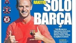 TIẾT LỘ: Rakitic từ chối Man United để ở lại Barca