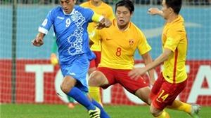 Trung Quốc và Thái Lan lại thua đậm, tiếp tục bét bảng ở vòng loại World Cup 2018