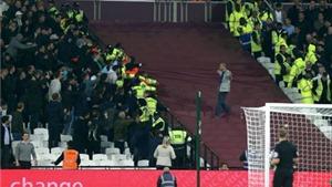Ẩu đả dữ dội ở trận West Ham – Chelsea, 200 cổ động viên đối mặt với lệnh cấm