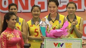 Tây Ninh đăng cai giải bóng chuyền nữ quốc tế Cúp VTV- Bình Điền lần thứ 11 năm 2017