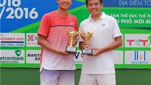 Hoàng Nam lần thứ 2 vô địch đôi nam F9 Men's Future