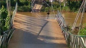 Sập cầu treo ở Đồng Nai, 4 người rơi xuống sông: Do tuột dây cáp?