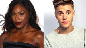 Serena Williams là fan cuồng của Justin Bieber
