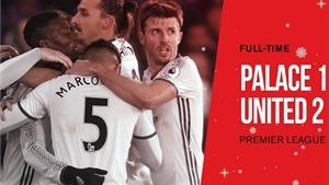 Crystal Palace 1-2 Man United: Pogba và Ibrahimovic ghi bàn, Man United thắng đầy cảm xúc