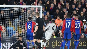 TRANH CÃI: Paul Pogba đã việt vị khi ghi bàn vào lưới Crystal Palace?