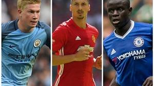 Hai cầu thủ Man United góp mặt trong đội hình tiêu biểu Premier League vòng 17