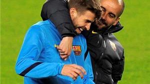 Pep Guardiola đã 'CHỌN' Pique làm chủ tịch Barca