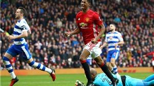 Mourinho đã nói gì để giúp Rashford tỏa sáng ở hiệp 2 trận gặp Reading?