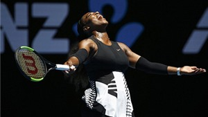 Serena Williams giải quyết nhanh gọn đối thủ để tiến vào Bán kết Úc mở rộng