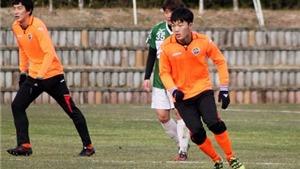 Xuân Trường bất ngờ chọn số áo ở Gangwon FC trùng ngày sinh nhật
