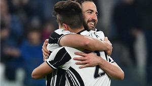 Juventus 3-1 Napoli: Song sát Higuain-Dybala nổ súng, Juve đặt một chân vào chung kết cúp Italy