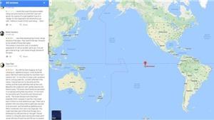Đảo Đầu lâu Kong thật sự trên Google Maps ở đâu?