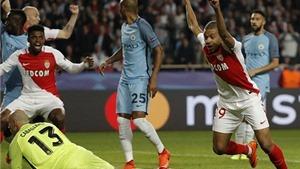Monaco 3-1 Man City (6-6): Bất ngờ thua tan tác, Man City phải dừng cuộc chơi