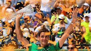 Phát SỐT trước pha thả bóng 'siêu ngọt' của Federer trước Nadal