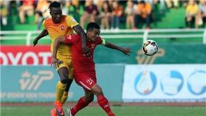 Đội bóng của Công Vinh thua 'sốc' S.Khánh Hòa