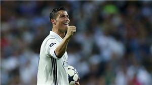 Pique 'cạn lời' vì bàn việt vị của Ronaldo vào lưới Bayern