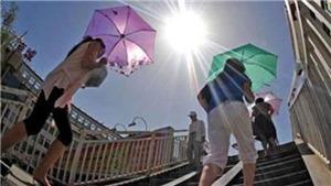 Nắng nóng diện rộng ở Tây Bắc Bộ và từ Thanh Hóa đến Phú Yên