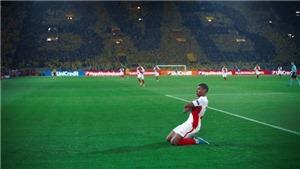 Mbappe lập kỷ lục với bàn thắng vào lưới Dortmund