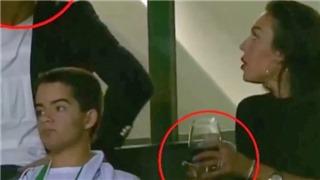 Bạn gái Ronaldo bị công kích chỉ vì một hành động