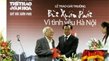 """Toàn cảnh Lễ trao giải """"Bùi Xuân Phái – Vì tình yêu Hà Nội"""" 2010"""
