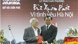 Báo cáo Tổng kết Giải thưởng Bùi Xuân Phái – Vì tình yêu Hà Nội năm 2010